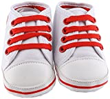 Lilsta Unisex White Canvas Sneakers- 6-12mth