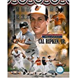 UNSIGNED Cal Ripken Jr. HOF Collage LE 2632 8x10