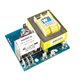Warrick 16B2D0 General Purpose Open Circuit Board Control with Retrofit Standoff, 10K ohms Direct Sensitivity, 240 VAC Voltage