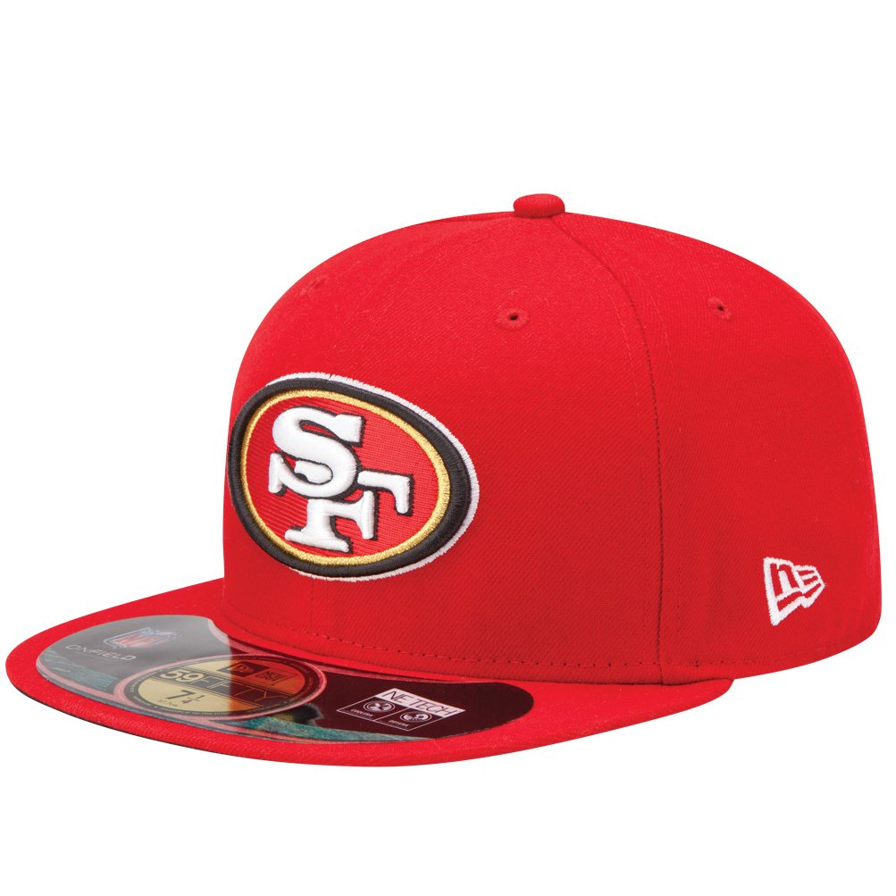 San Francisco 49ers On-Field 59Fifty Red Fitted Sideline Hat Hat Size: 7 fifty shades darker