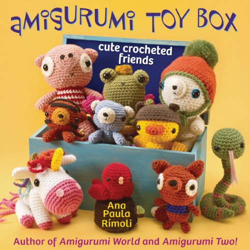 Amigurumi Toy Box: Cute Crocheted Friends front-126341