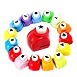 LoveInUSA 10Pcs Paper Punch Scrapbooking Punches Handmade Hole Puncher Hand Press Shapes Craft Printing Shaper Puncher Random Shape Valentine's Day Gifts