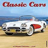 Classic Cars 2016 Wall Calendar