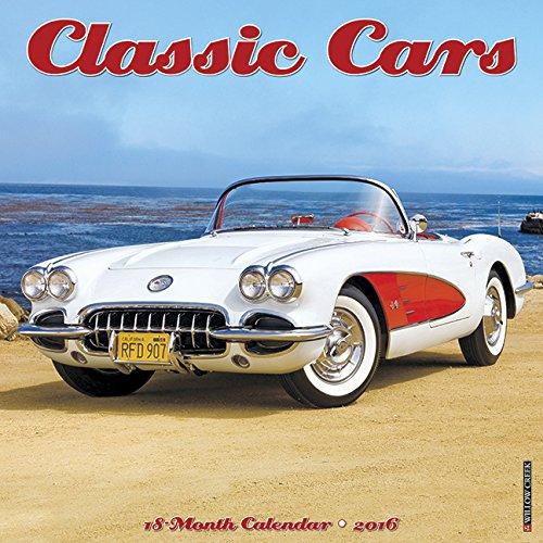 2016 Classic Cars Wall Calendar PDF