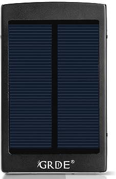 GRDE 10000mAh Solar Power Bank