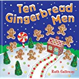 Ten Gingerbread Men (Moulded Counting Books)