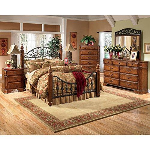 Wyatt Poster Bedroom Set By Ashley Furniture front-986027