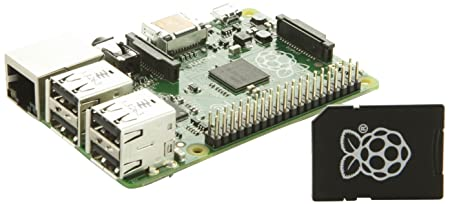 Raspberry Pi Model B+ with 8GB NOOBS card