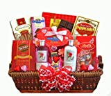 Spa & Chocolate Gift Basket for Women - Christmas Holiday Gift Idea for Her