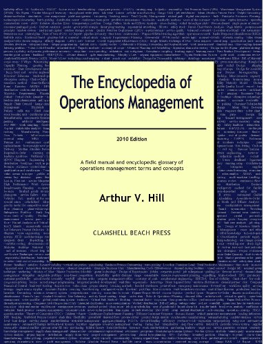 The Encyclopedia of Operations Management - 2010 Edition