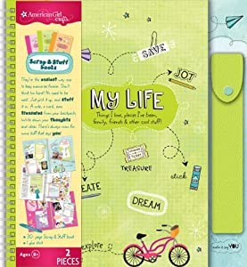American Girl Crafts Travel Size My Life Scrap and Stuff Book