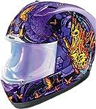 Icon Alliance Chrysalis Helmet , Helmet Category: Street, Helmet Type: Full-face Helmets, Size: XS, Distinct Name: Chrysalis Purple, Gender: Womens, Primary Color: Purple 0101-5877