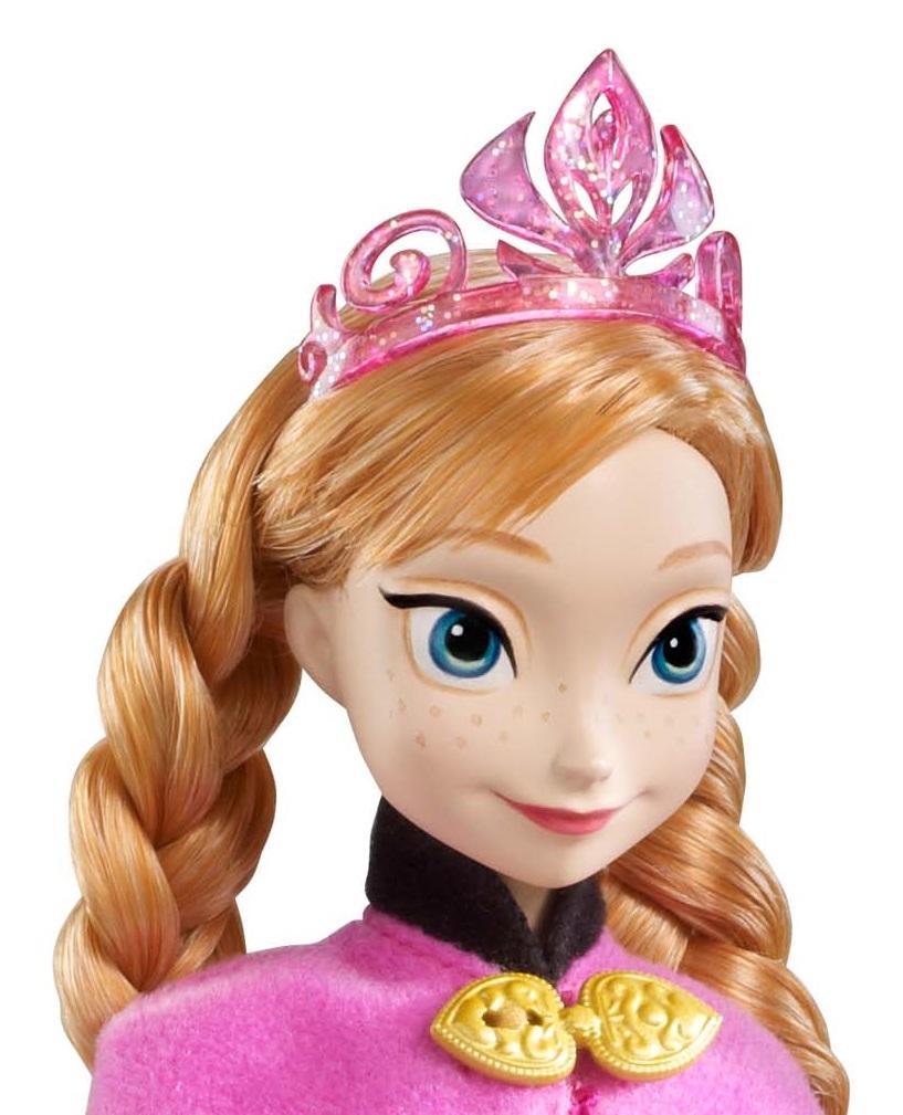 Amazon com disney frozen sparkle anna of arendelle doll toys amp games