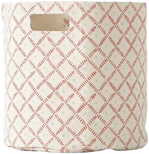 Pehr Designs Weave Bin-Tomato/Cloud - 1