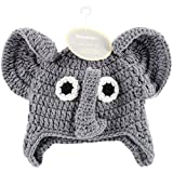 Crocheted Hats For Babies Elephant