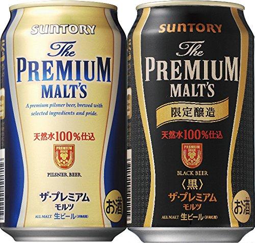 サントリー ザ プレミアムモルツ 限定セット 350ml×12缶×2種
