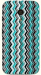 Noticeable multicolor printed protective REBEL mobile back cover for Motorola Moto G (2014) 1st Gen D.No.N-T-4406-MG1