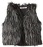 Flowers by Zoe Big Girls B with Fur Vest