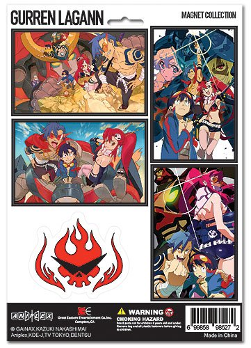 Gurren Lagann: Magnet Collection - 1
