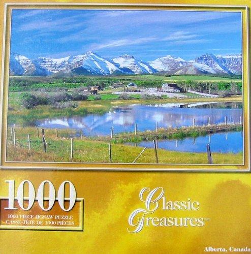 Classic Treasures 1000pc. Puzzle-Alberta, Canada