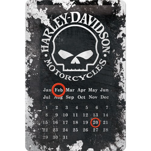 harley-davidson-skull-calendario-targa-in-metallo