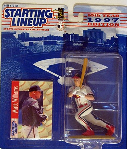 Matt Williams - Cleveland Indians - Starting Lineup 1997 - Collectible Toy Figure