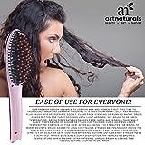 Art Naturals Anti Static Ceramic Heating Brush Hair Straightener