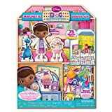 Disney Doc McStuffins 75 piece Magnetic Dress-up and Playhouse Clinic