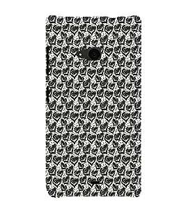ifasho Designer Phone Back Case Cover Microsoft Lumia 535 :: Microsoft Lumia 535 Dual SIM :: Nokia Lumia 535 ( All Because Of You Quotes )