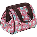 Fit And Fresh Kids Riley Insulated Lunch Bag, Rainbow Owl