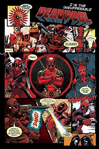 Deadpool poster pannelli + accessori