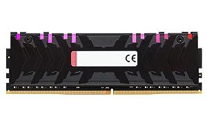 HyperX Predator RGB High Performance - 16GB 3600MHz DDR4 CL17 (8GB x 2) (HX436C17PB4AK2/16) (Tamaño: 16GB Kit (2 x 8GB))