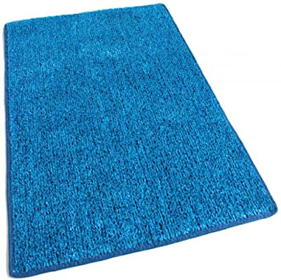 Outdoor Turf Rug / Aisle Runner - BLUE 2 TONED - 1/4