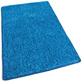 Outdoor Turf Rug / Aisle Runner - 9'x12' BLUE 2 TONED - 1/4