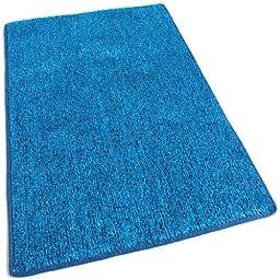 Outdoor Turf Rug / Aisle Runner - 3\'x10\' BLUE 2 TONED - 1/4\