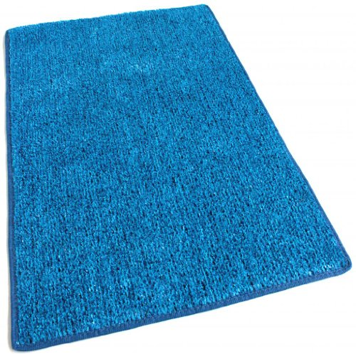 Outdoor Turf Rug / Aisle Runner - SQUARE 10'X10' BLUE 2 TONED - 1/4