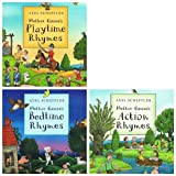 img - for Mother Goose Rhymes: 3 books collection pack: (Mother Goose's Action Rhymes / Mother Goose's Bedtime Rhymes / Mother Goose's Playtime Rhymes rrp  17.97) book / textbook / text book