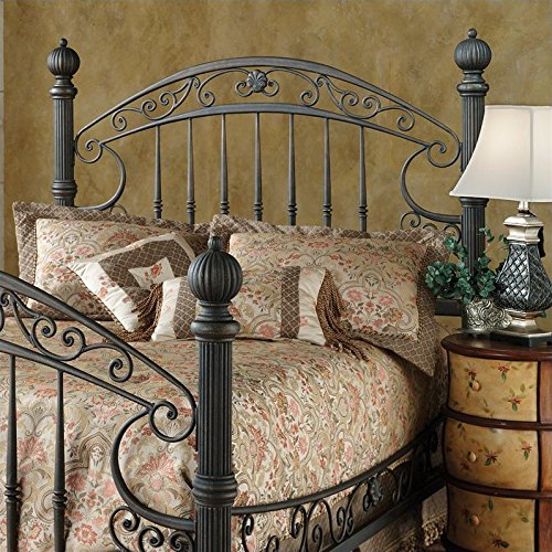 Hillsdale Furniture 1335hk Chesapeake Headboard King Rustic Old Brown Beds Accessories