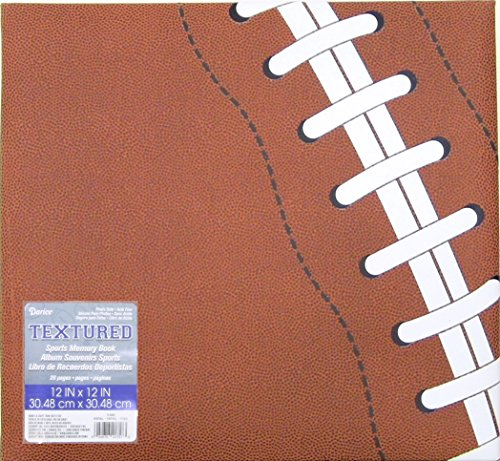 Darice 12-5006 Football Themed Scrapbook, 12 by 12-Inch (Football Scrapbook Album compare prices)