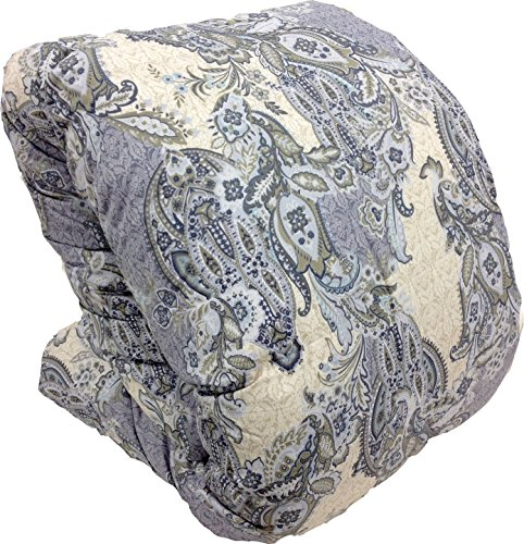 西川リビング マザーグース 羽毛布団 シングル A152 日本製 (グレー)