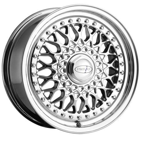 16x7 Privat Remember (Virtual Chrome) Wheels/Rims 5x100/114.3 (RB76T0435V)