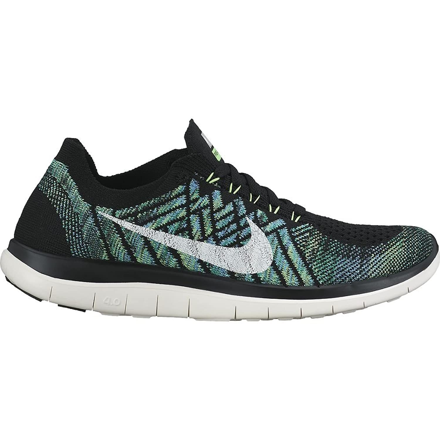 Nike Free 4.0 Flyknit Womens Running Shoes Black