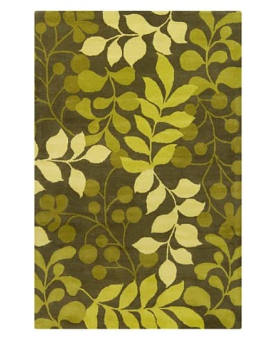Filament Jenelle Rug, Green, 5' x 7' 6