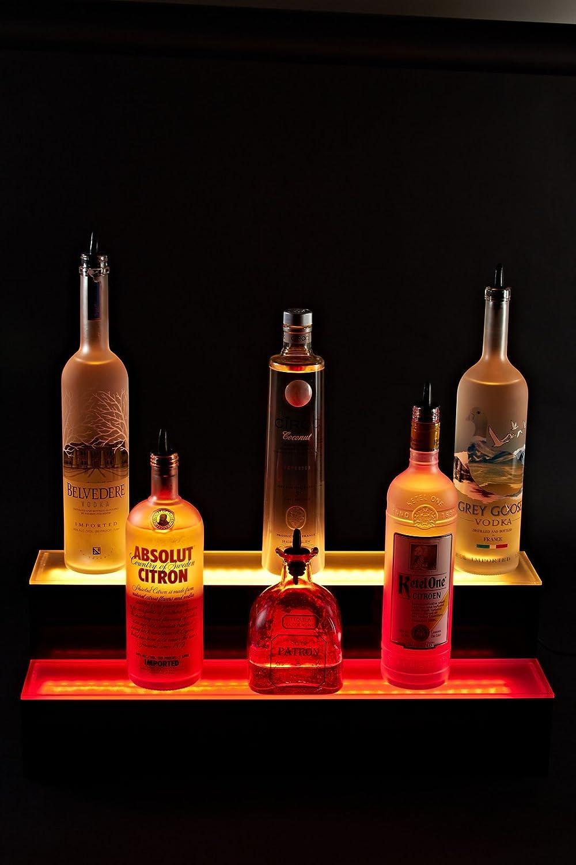 Armana Acrylic New 6 2 Step Tier Led Lighted Liquor