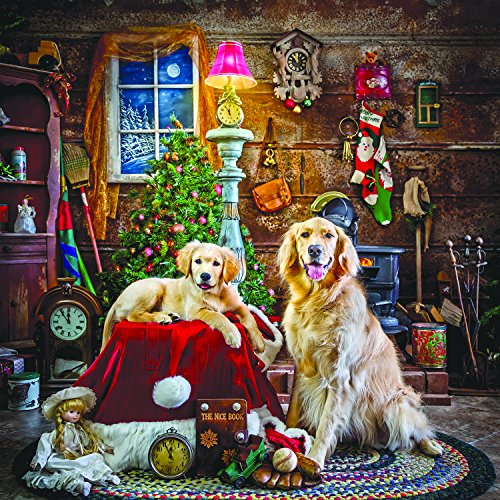Santa's Little Helpers 1000 Piece Jigsaw Puzzle by SunsOut Inc.
