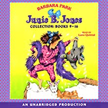 Junie B. Jones Collection: Books 9-16 Audiobook by Barbara Park Narrated by Wendy Dillon