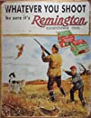 Remington Whatever You Shoot Rifle Hunting Distressed Retro