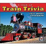A Year of Train Trivia 2017 Boxed/Daily Calendar