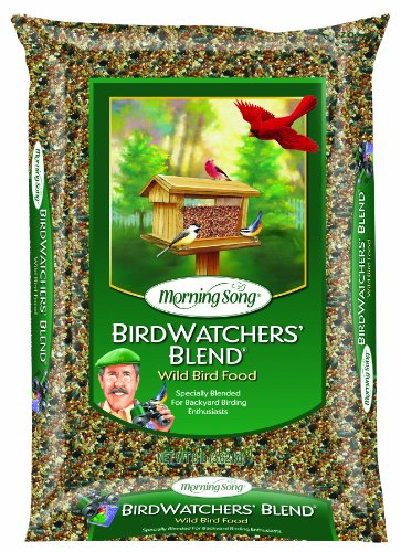 Morning Song 11956 Birdwatchers Blend - Wild Bird Food, 18-Pound (Morning Song Sunflower Seeds compare prices)