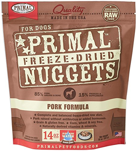 Primal Pet Foods Freeze-Dried Canine Pork Formula, 14 oz (Freeze Dried Pet Food compare prices)